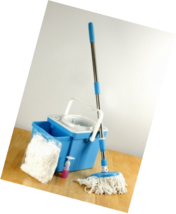 Above Edge AESM01 Foldable Spin Mop Bucket System - $90.30