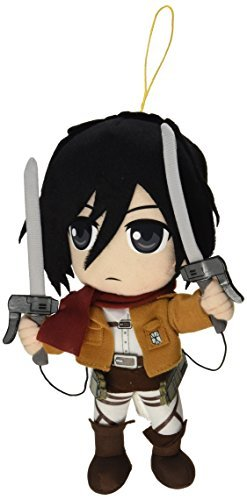 "Great Eastern Attack on Titan 9.5"" Mikasa Ackerman Plush"