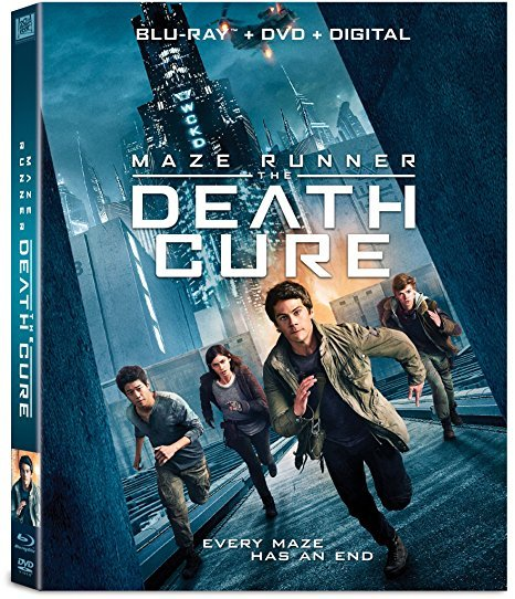 Maze Runner: The Death Cure [Blu-ray+DVD+Digital, 2018]