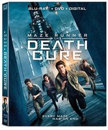 Maze Runner: The Death Cure [Blu-ray+DVD+Digital, 2018] - $7.95