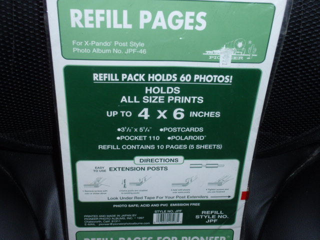 Refill Pages For Pioneer 2 Ring Photo Albums And 50 Similar Items