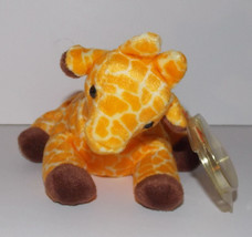 Ty Beanie Baby Twigs Plush 9in Giraffe Stuffed Animal Retired with Tag 1995 - $14.99