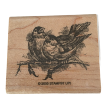 Stampin Up Rubber Stamp Birds on Tree Branch Nature Forest Card Making Craft Art - $9.99