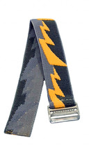 Timex Youth | Easy-Adjustable Elastic Watch Strap 18mm | Yellow Bolt Design - $6.92