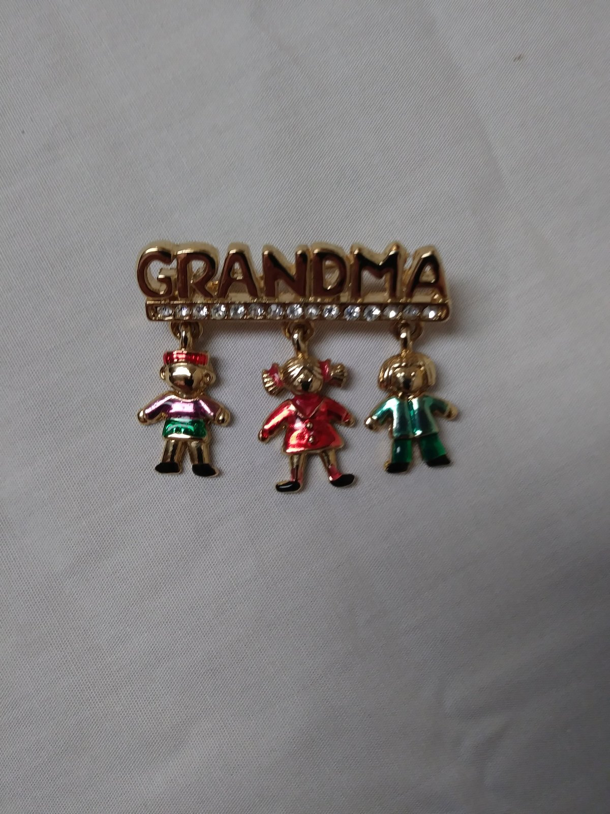Grandma Bar Style Pin/Brooch