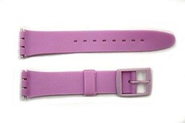 17mm Men's Light Purple Replacement Band Strap fits SWATCH watches - $7.41