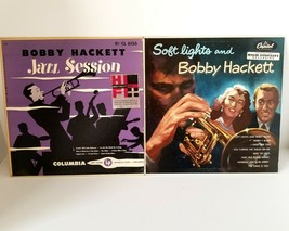 "Bobby Hacket Vintage 10 "" Record Album Jazz Session Columbia 1950 + Soft... - £27.89 GBP"
