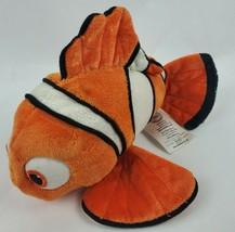 "Disney Store Finding Nemo 8"" Plush Clown Fish Orange Stuffed Animal Pixar - $13.31"