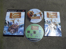 Open Season (Sony Play Station 2, 2006) Game And Movie - $7.91