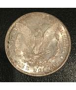 1878-S Morgan Silver Dollar  Ch Bu  Great Toning - $64.35