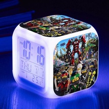 Lego Movie #02 Led Alarm Clock Figures LED Alarm Clock - $25.00