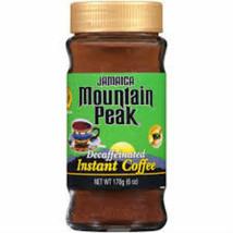 Jamaica Mountain Peak Istantaneo Giamaicano Caffè Decaffeinato 177ml (Co... - $49.99