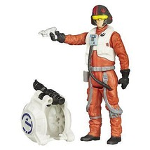 Star Wars The Force Awakens 3.75-Inch Figure Space Mission Poe Dameron - $9.88