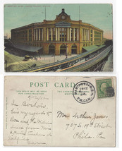 Manchester NH Transfer Clk Cancel 1912 Postmark on Boston RR Station Pos... - $4.84