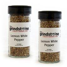 The Grindstone | Lemon White Pepper | Non GMO Rub | Hand Blended | (2 Pack) - $18.57