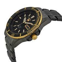 Seiko Men's 5 Automatic SRP558K Black Ion Gold Stainless-Steel Automatic... - $245.00