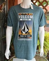 Volcom Mens Graphic Tee Cotton Blend T-Shirt Size XL NWT - $20.63