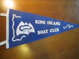 sailing yachting felt pennant Currie Tasmania Australia KING ISLAND Boat... - $13.95
