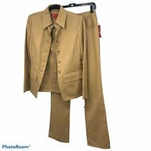 Women's Petite Anne Klein  2 Piece Pant Suit, Size 4  MRSP $ 189 Sale 13... - $44.55
