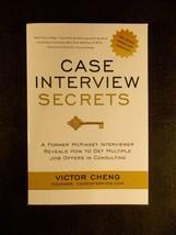 Case Interview Secrets : A Former Mckinsey Interviewer Reveals How to Ge... - $8.59