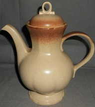 1970s-80s Mikasa WHOLE WHEAT PATTERN 8 Cup Coffee Pot MADE IN JAPAN - $59.39