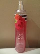 Bath & Body Works Mad About You 8 Ounce Fine Fragrance Mist 95% Full Cl EAN - $10.99