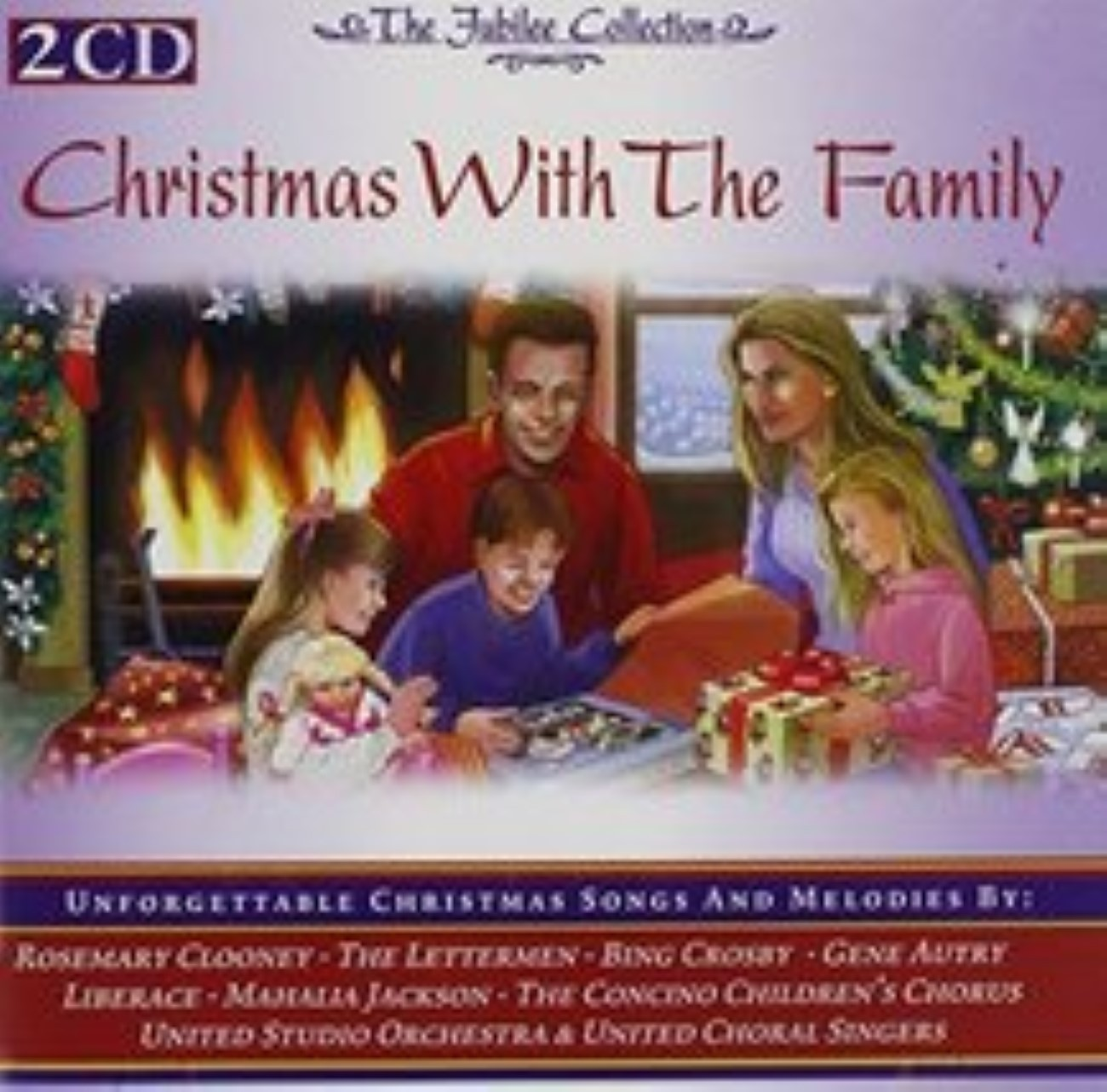 Family Christmas & Children Sing by Various Artists Cd