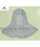 NauticalMart Renaissance Armor Silver Chainmail Head Coif Hood Costume  - $139.00