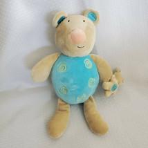 Manhattan Toy Stuffed Plush 2005 Teddy Bear Mouse Blue Tan Brown - $79.19