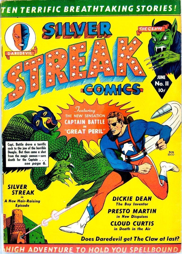 Daredevil Plus Silver Streak - Comics on dvd - 2 discs