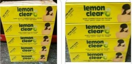 Lemon Clear Tube Cream Leaves You Skin Spotless And Free From Hyperpigme... - $10.26