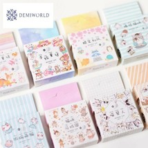 Hand-Painted Fairy Tales Washi Tape Adhesive Tape DIY Scrapbooking Stick... - $2.48