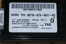 07 08 09 ACURA MDX Bluetooth Communication Control Module Link 39770-STX-A011M1 image 5