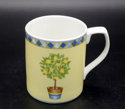 Royal Doulton Carmina * MUG / CUP * Lemon Tree, Good Used Condition - $8.90