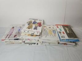 Sewing Pattern lot of 36 McCall Simplicity Butterick Women Children Men - $18.70