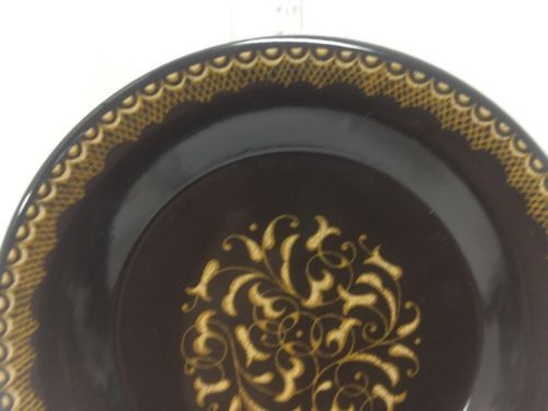 """MINT Vintage FRANCISCAN EARTHENWARE Jamoca 6-3/4"""" BREAD AND BUTTER PLATES"""