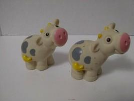 Little Tikes Tonka People Chunky Cow  Figures Vintage - $6.93