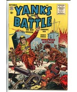 YANKS IN BATTLE #1 1956-QUALITY-1ST ISSUE-COMMIES-fn/vf - $84.43