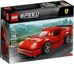 LEGO Speed Champions Ferrari F40 Competizione 75890 Building Kit, NEW SE... - $27.99