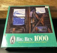 1997 BIG BEN 1000 Piece Jigsaw Puzzle 3 Windows San Miguel Mts Colorado NIB - $13.85