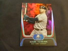 2012 Bowman Platinum Ruby #43 Mark Teixeira -New York Yankees- - $3.12