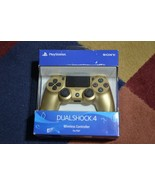 OEM Sony Dualshock 4 PS4 Wireless Controller Gold PARTS REPAIR L3 Drift*** - $42.03