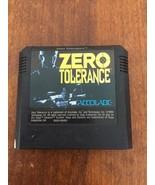 Accolade Sega Zero Tolerance Game Cartridge 1994 - $11.88