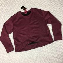 Black Pink Metallic NWT I heart Ronson Womens Longsleeve Pullover Sweats... - $13.09
