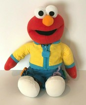 """Fisher Price Learn To Dress Elmo 15"""" Plush Learning Aide H9206 Mattel 2006 - $29.99"""