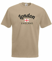 LONDON ENGLAND GRAPHIC FULL COLOUR  HIGH QUALITY 100% COTTON T SHIRT - $15.91