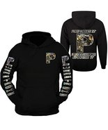Powerstroke Hoodie Pullover CAMOU design Ford Truck Power Stroke Front &... - $39.99