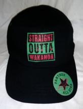 Straight Outta Wakanda RBG Dad Hat Baseball Cap Black Panther type Marve... - $18.99