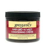 Groganics Hair Gro N Wild Conditioning Creme 6oz -New Package - $13.37