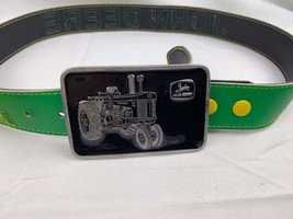 John Deere Belt with Tractor Buckle by Paul Frank Made in USA and Hat Cap Scarf - $29.20